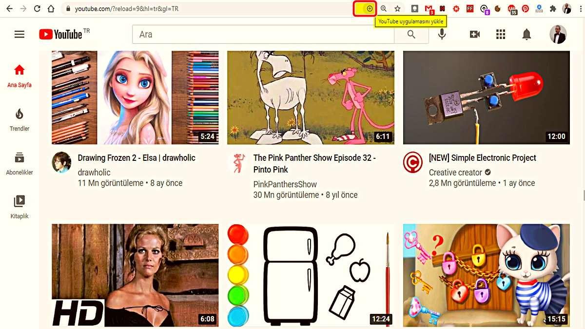 YouTube PWA'sı Yayınlandı: YouTube'u Bilgisayarınızda Ayrı Bir Uygulama Olarak Kullanabilirsiniz