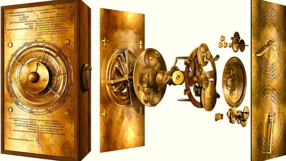 """Antik Yunan'dan kalan ve """"ilk mekanik bilgisayar"""" olarak kabul edilen Antikythera'nın sırrı, dijital modelleme sayesinde çözülüyor."""
