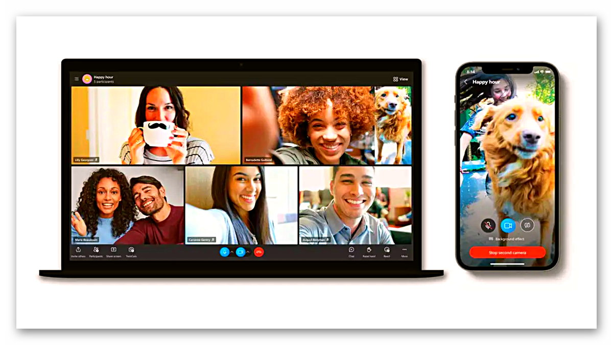 Yazılım devi Microsoft, görüntülü sohbet uygulaması Skype'a yeni özellikler ve performans iyileştirmeleri getiriyor. Modern yeni arayüz ve mobil cihaz entegrasyonu ile kullanıcı deneyimi artacak.